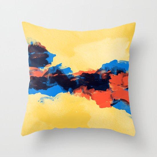 Tectonic Throw Pillow