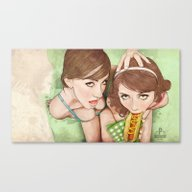 Canvas Print featuring Life's A Picnic, Bring Y… by Keith P. Rein