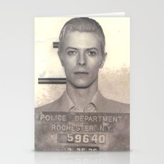 Bowie Mugshot VI Stationery Cards