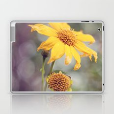 Yellow Florals Laptop & iPad Skin