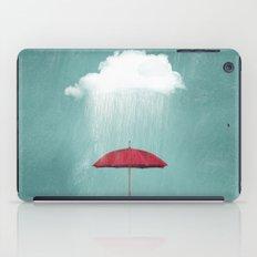 WHITE RAIN iPad Case