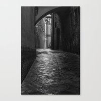 Wet Alley Canvas Print