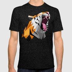 TML polygon tiger ROAR!!! Mens Fitted Tee Tri-Black SMALL