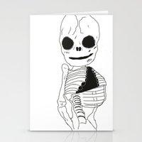 Bonesy Understands You  Stationery Cards