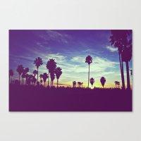 Venice Beach, CA .3 Canvas Print