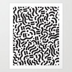 ABSTRACT 0018 Art Print