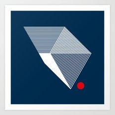 V like V Art Print