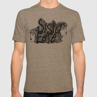 Sister Edie Mens Fitted Tee Tri-Coffee SMALL