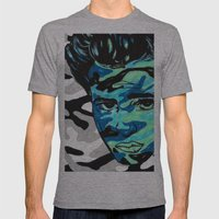 Marlon Brando: Double Vi… Mens Fitted Tee Athletic Grey SMALL
