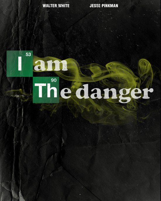 Danger is My Middle Name Art Print