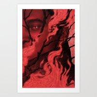 Byronic V Art Print