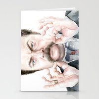 Swanson Mustache Stationery Cards