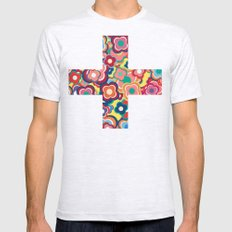 All the Pretty Colors Mens Fitted Tee Ash Grey SMALL