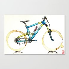 Coffee Wheels #14 Canvas Print