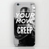 Robocop Typography iPhone & iPod Skin