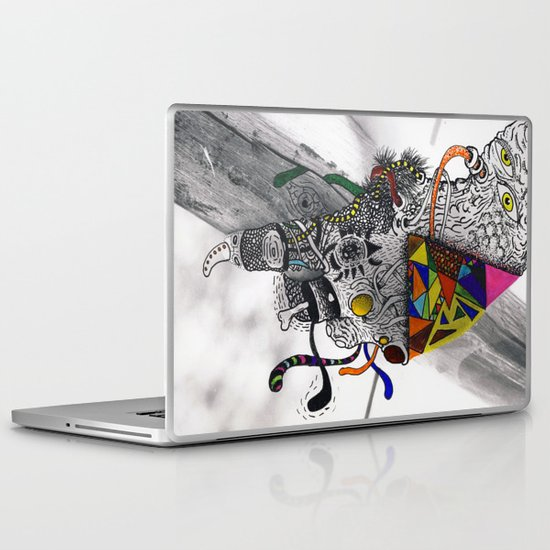 Psychoactive Bear 7 Laptop & iPad Skin