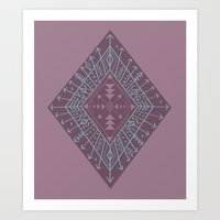 Gypsy Compass Art Print