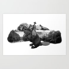 Homeland Security Art Print
