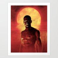 Illustrated Man Art Print