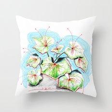 Plenty of Plants Throw Pillow