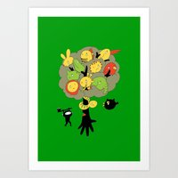 The Ninja Assassin Art Print