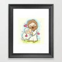 Lord Is My Shepherd Framed Art Print