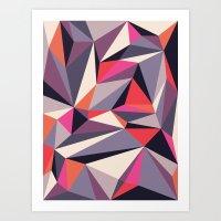 Diamonoid: Autumn Soiré… Art Print
