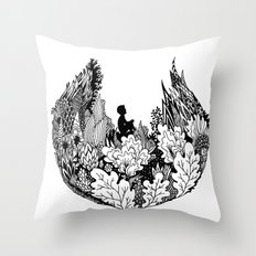 Commune With Nature Throw Pillow