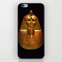 Psusennes funerary mask iPhone & iPod Skin