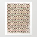 The Native Pattern Art Print