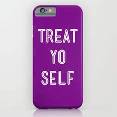 Treat Yo Self Purple - Parks and Recreation iPhone 6 Slim Case