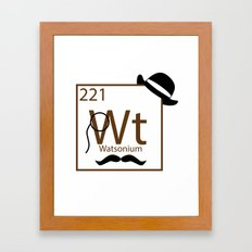 My Dear Watson is Elementary Framed Art Print