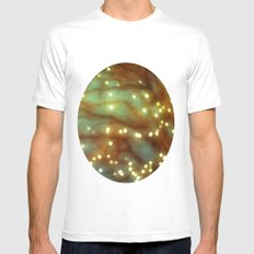 Winter Magic White SMALL Mens Fitted Tee