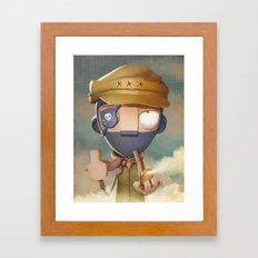 Marcos Framed Art Print