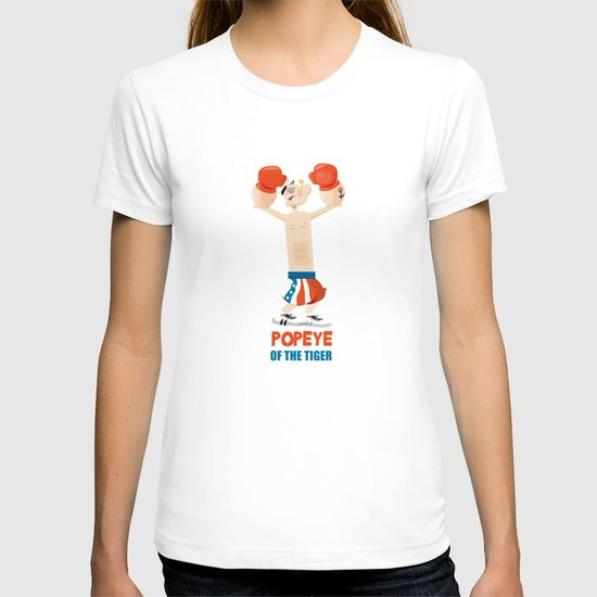 coupling up (accouplés) Popeye of the tiger T-shirt