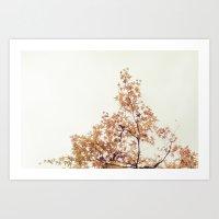 Autumn Stars Art Print