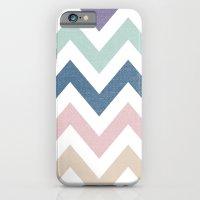 MUTED CHEVRON {COOL TONE… iPhone 6 Slim Case