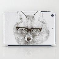 iPad Case featuring Fox Specs by Phil Jones