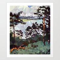 Landscape N. 5 Art Print