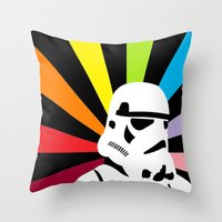 After The Storm... Rainb… Throw Pillow