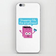 Retail Therapy iPhone & iPod Skin