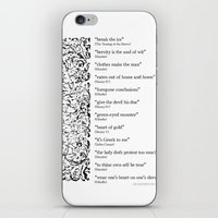 Words Words Words - Will… iPhone & iPod Skin