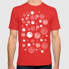 Bubblemagic - Red Mens Fitted Tee Red SMALL