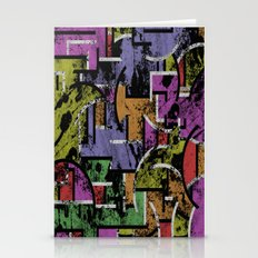 Textured Segregation Stationery Cards