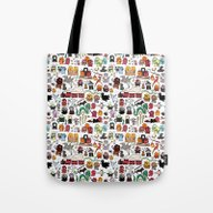 Kawaii Harry Potter Dood… Tote Bag