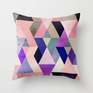 Colour + Pattern 29 Throw Pillow