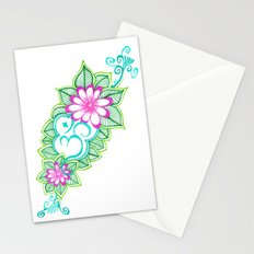 Om Sharpie Doodle Stationery Cards