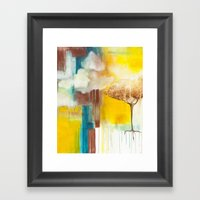 Spilling Light Framed Art Print