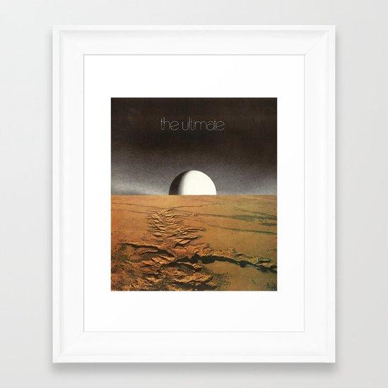 the ultimate Framed Art Print