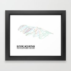 Boyne Mountain, MI - Min… Framed Art Print